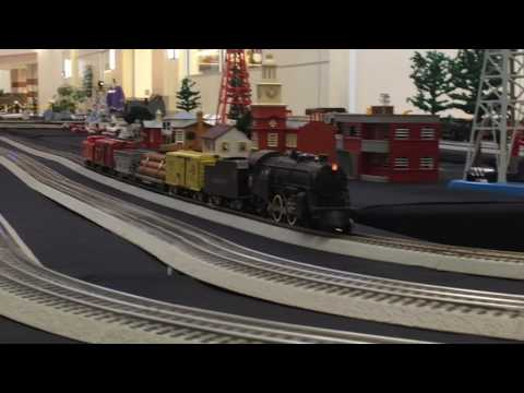 O Scale Model Train Layout