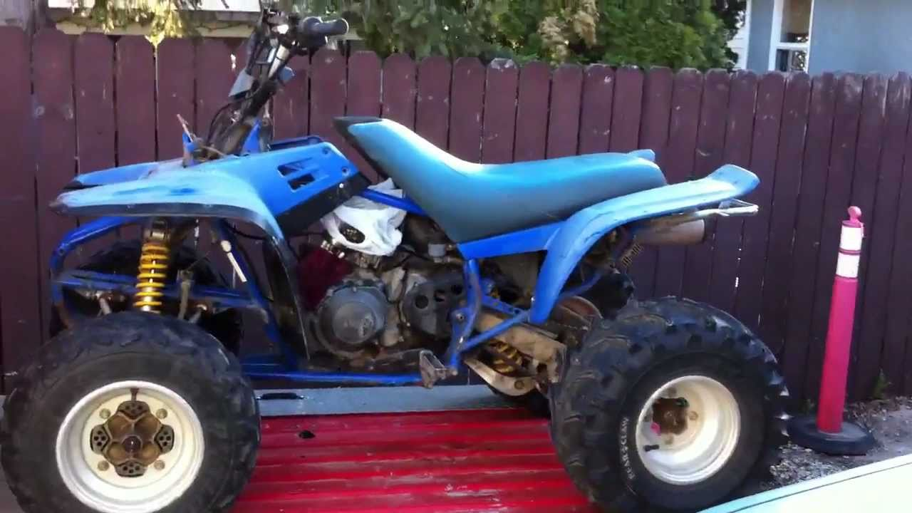 my new project a 1989 yamaha warrior 350 parts 1
