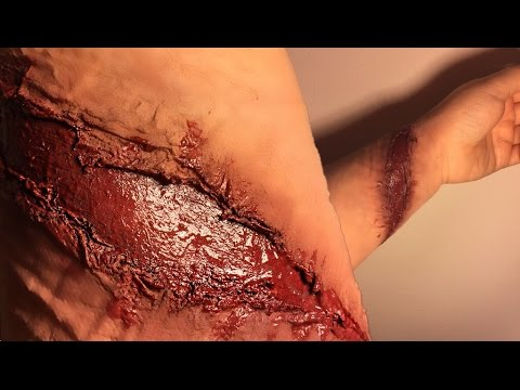 DIY Wound Halloween - WITH TOILET PAPER?!