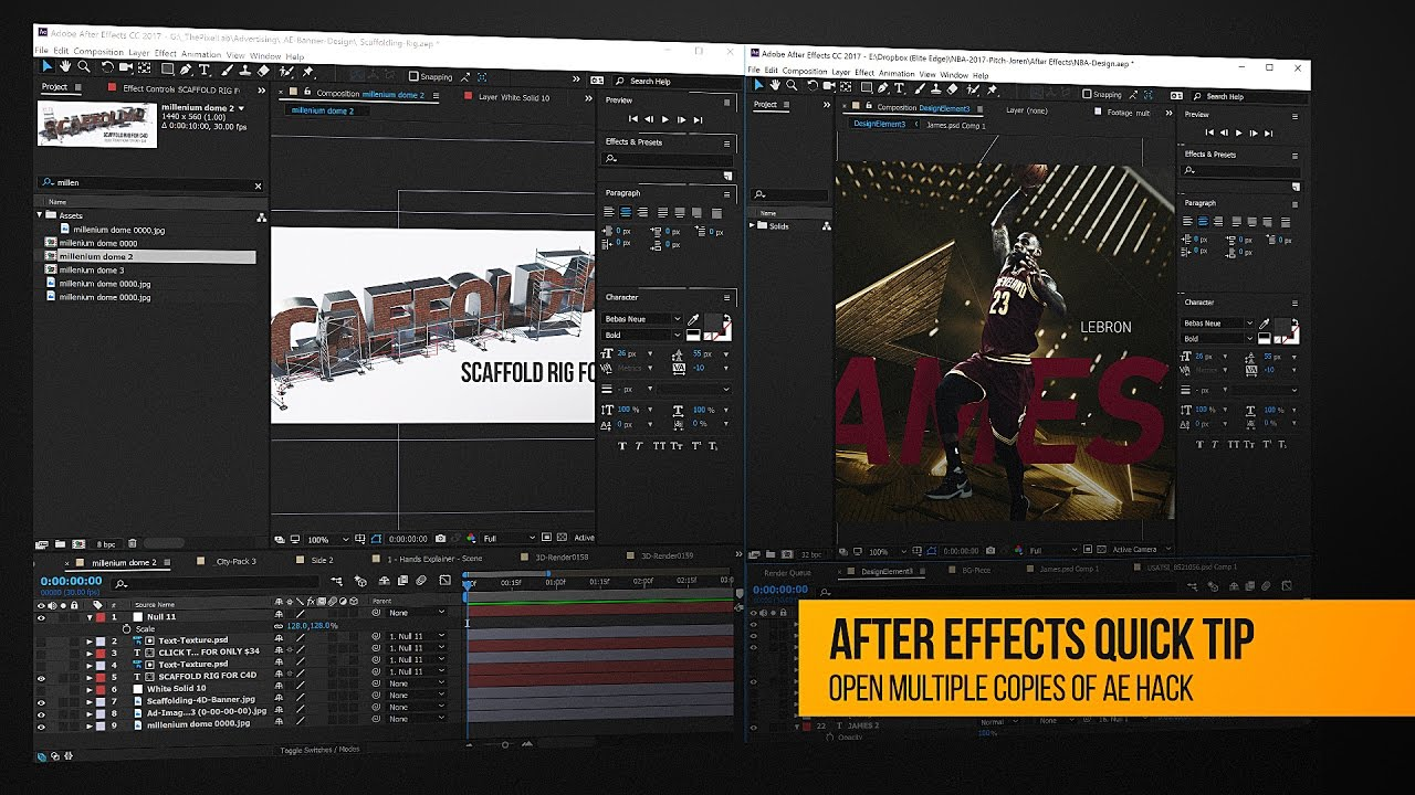 Quick Tip: Open Multiple Copies of Adobe After Effects in Windows 10