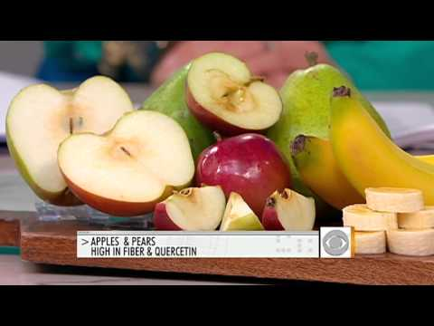The Early Show - Stroke prevention: An apple a day...