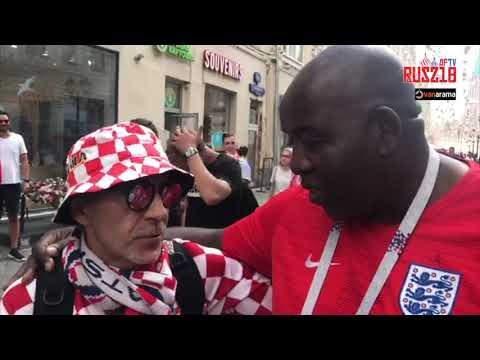 Buzzing Atmosphere In Russia From England & Croatia Fans  | World Cup 2018