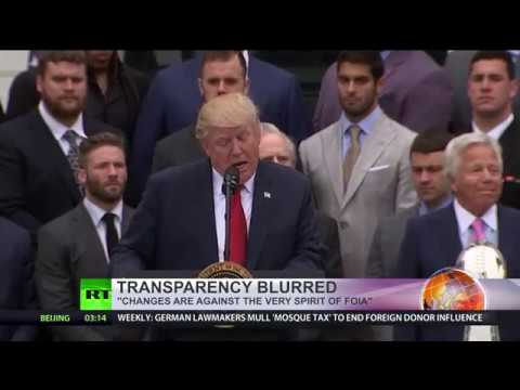 Transparency blurring: US govt wants to curb the Freedom of Information Act