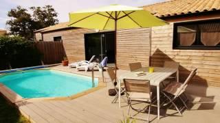 Cherche villa à louer en Vendée à Talmont Saint Hilaire pour les vacances d'été avec piscine