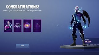 HOW TO UNLOCK THE *FULL* GALAXY SET IN FORTNITE! (STEP BY STEP GUIDE)
