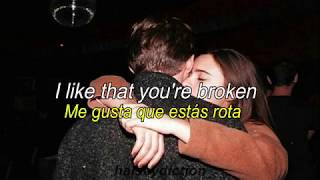 Broken // Lovelytheband ; Lyrics Español/Inglés