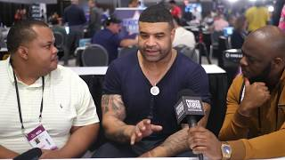 "Shawne Merriman on Chase Young ""SO VERSATILE, IT'S SCARY"", Discusses Joe Burrow for 1st Overall Pick"