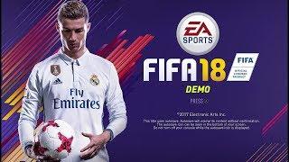 Играем в FIFA 18 Demo