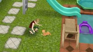 """"""" Весёлая жизнь в The Sims Free Play """" слайд шоу, детский разлекателый клип!!!!"""