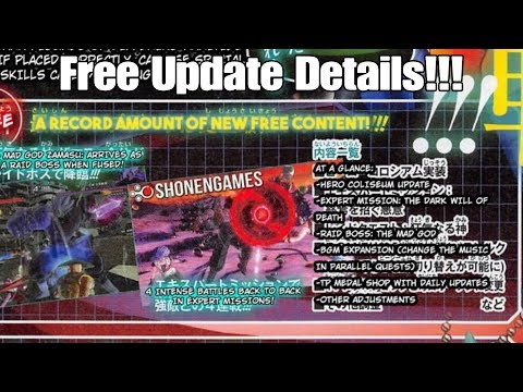 Xenoverse 2 DLC 5 Free And Paid Content Full Breakdown! Greatest DLC Ever?