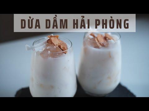 Cách Làm Chè Dừa Dầm Hải Phòng Chi Tiết Nhất   Coconut Dessert Recipe   Lilo Kitchen