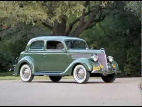 1936 ford v8 two door sedan youtube for 1936 ford 2 door sedan