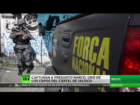 Detienen en Brasil al presunto líder del Cártel de Jalisco Nueva Generación