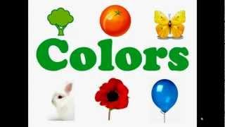 Inglese per bambini. Colori.
