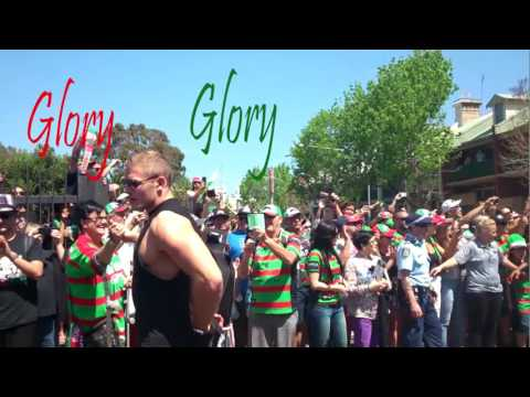GLORY GLORY SOUTH SYDNEY GRAND FINAL CELEBRATIONS REDFERN OVAL (06/10//14)