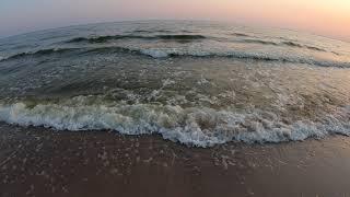 Очаков 2021 Пляж Море вечером Закат на море