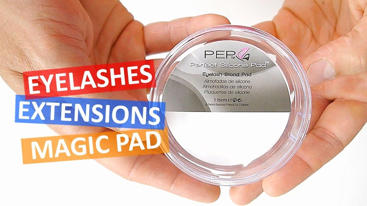 Magic Eyelash Pad Stand Eyelash Extensions Accessories Perfect