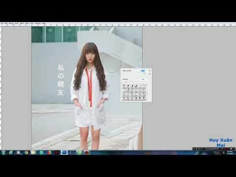 Cắt ghép và tạo bóng trong Photoshop CS3  ( bản nhanh )