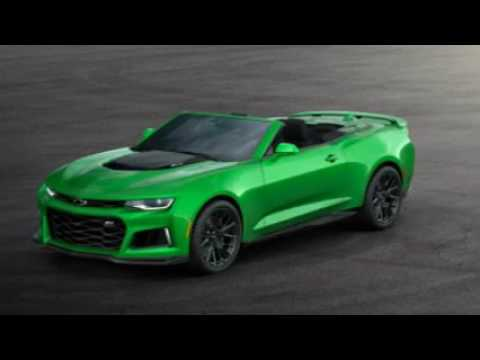 2017 Chevrolet Camaro Zl1 Convertible First Drive Review