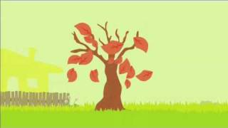 Apple tree life cycle animation