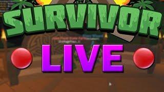 🔴 Roblox Survivor w/ Subscribers - Season 12 LIVE (Full Game)