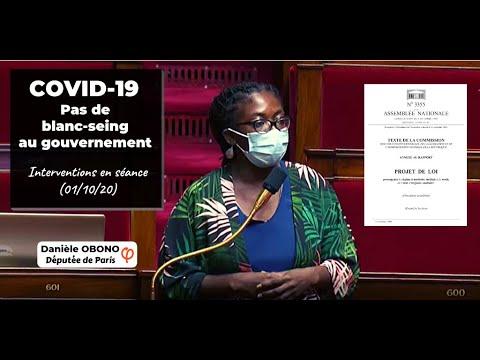 🏛 COVID-19 : PAS DE BLANC-SEIGN AU GOUVERNEMENT (01/10/20)