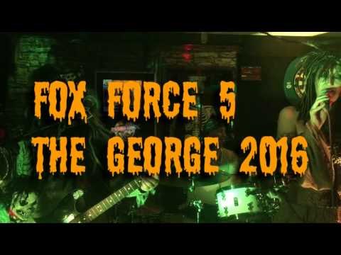 Fox Force 5 Halloween 2016 - The George Yalding