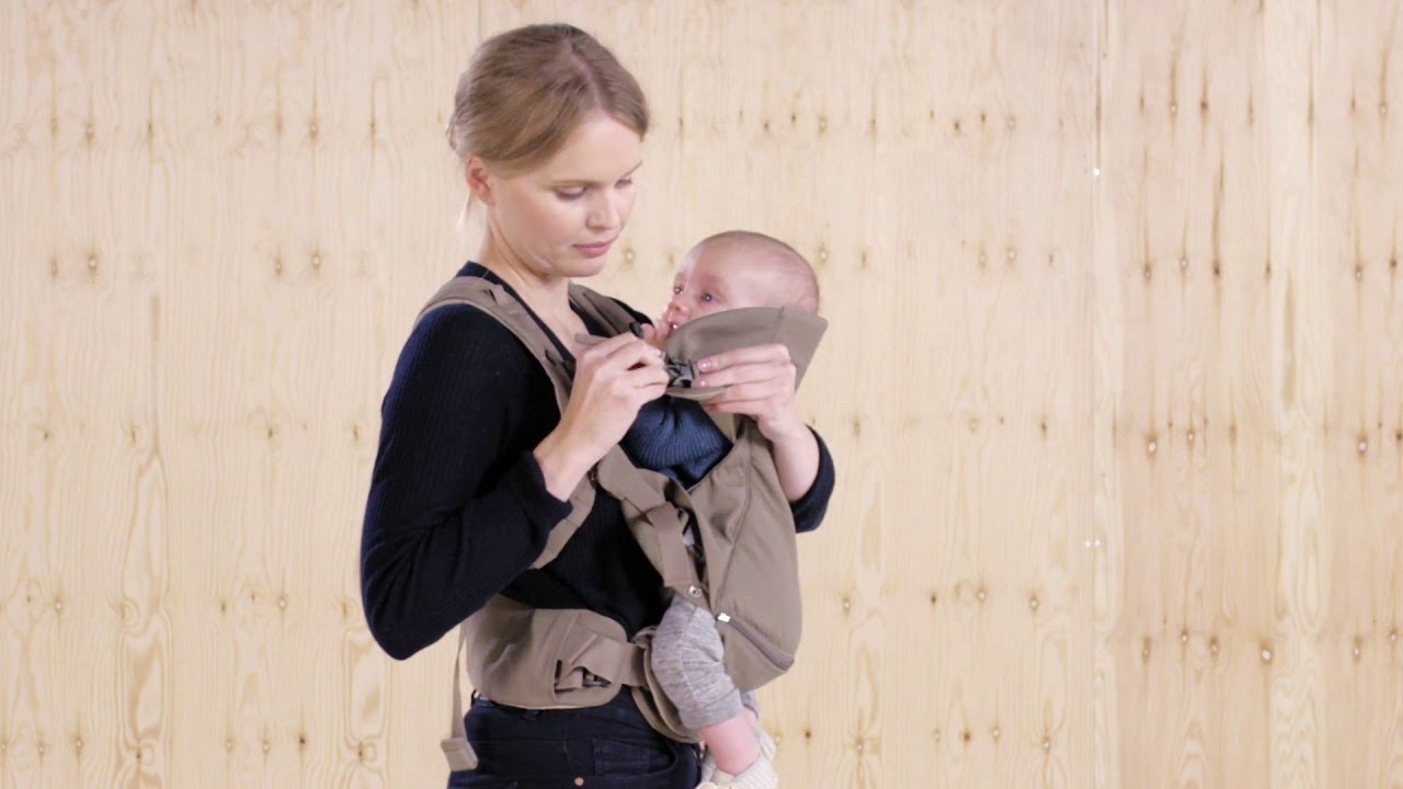 7592abee3e9f Stokke® MyCarrier™ Inward Facing Position (OFFICIAL DEMO) - YouTube