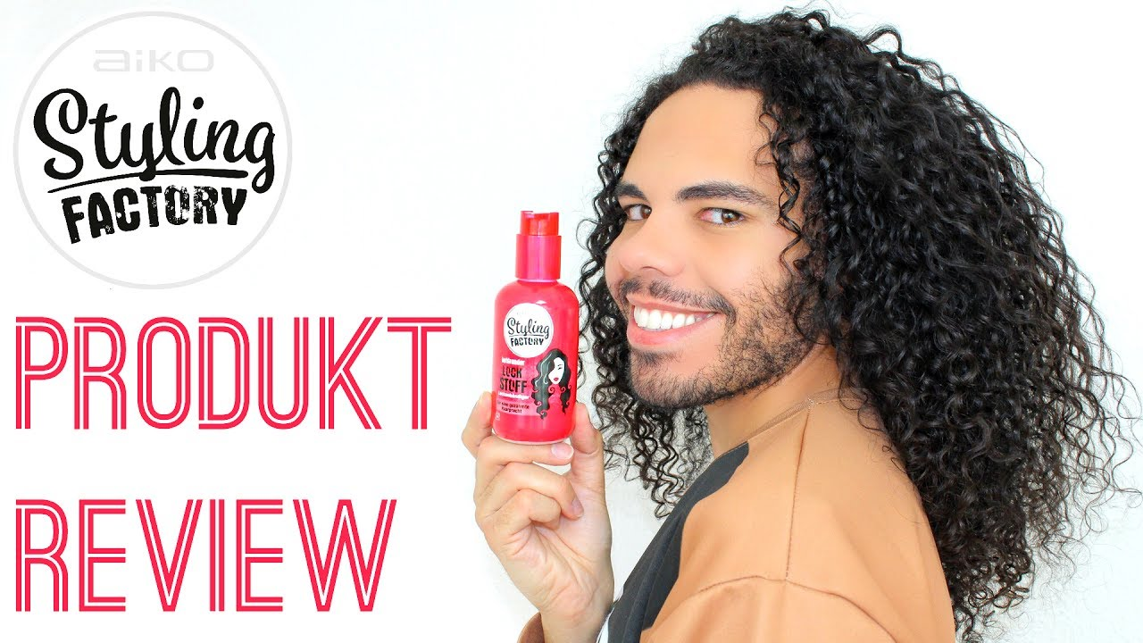 Locken Styling Produkte Aiko Styling Factory Betörender Lock Stoff Lockenbändiger Produkt Review Locken Definieren