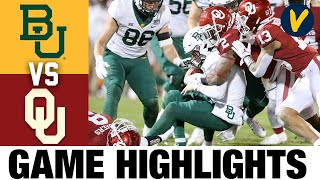 Baylor Vs #11 Oklahoma Highlights Highlights | College Football Week 14 | 2020 College Football