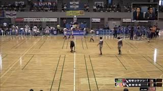 日本ハンドボールリーグ 琉球コラソン vs 豊田合成 14時〜