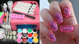 Покупка с Aliexpress/Набор для наращивания ногтей)