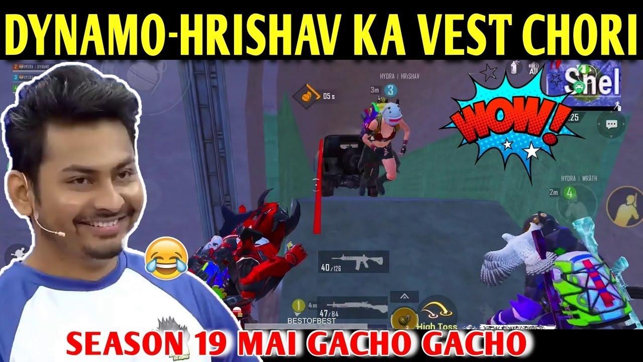 DYNAMO - HRISHAV KA VEST GAYAB | BATTLEGROUNDS MOBILE INDIA | BEST OF BEST