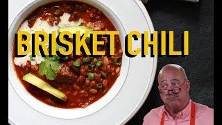 Andrew Zimmern Cooks: Brisket Chili