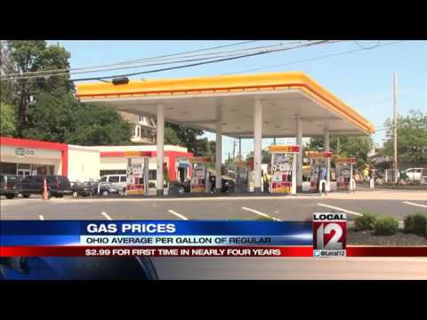 Ohio gas prices drop below $3 for first ti