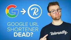Google URL shortener has shut down - What Next?