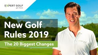 NEW GOLF RULES 2019 | The 20 Most Important CHANGES