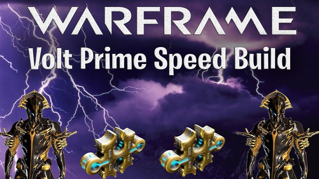 warframe best whip 2020 Warframe: Volt Prime Speed Build 2019   YouTube