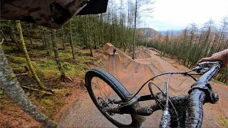 Non-stop Riding The Sickest Downhill Freeride Lines!!