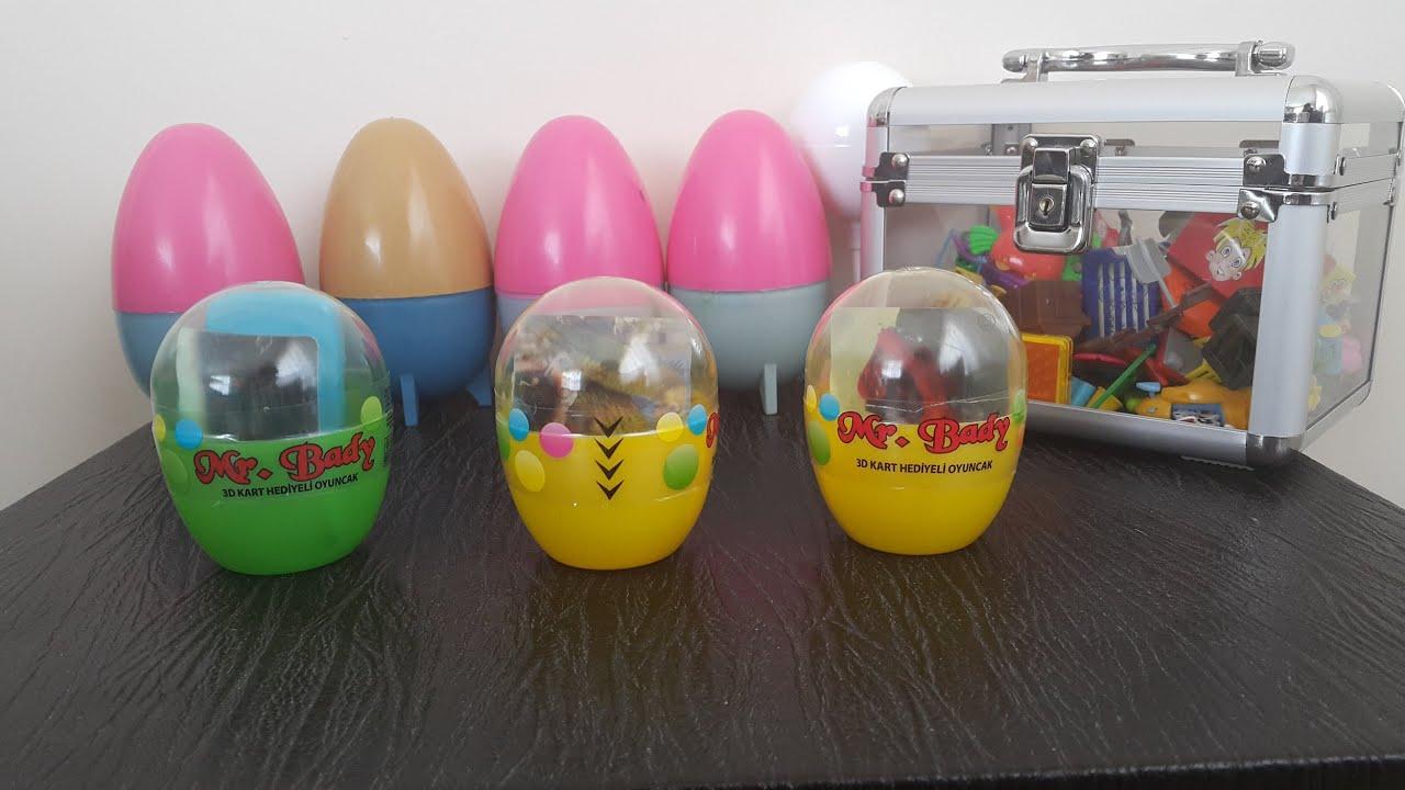 3D Kart Hediyeli Mr. Bady Yumurta Açma