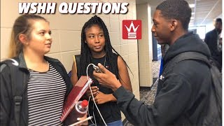 Gambar cover ASKING WSHH QUESTION IN PUBLIC ( HIGH SCHOOL EDITION)