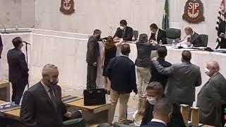 El acoso sexual a una diputada quedó registrado en las cámaras