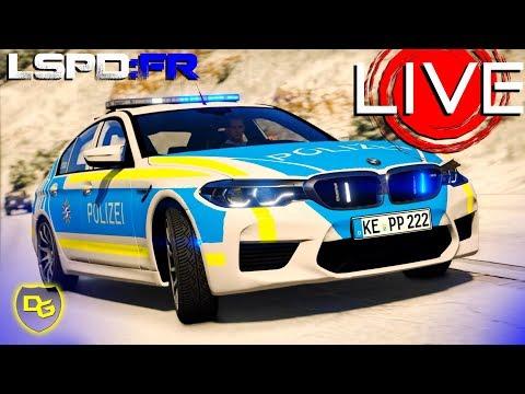 Wintereinbruch in Los Santos - GTA 5 LSPD:FR Livestream - Daniel Gaming thumbnail