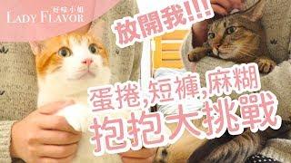 【好味小姐】抱抱貓大挑戰,蛋捲短褲麻糊誰最好抱呢? thumbnail