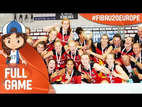 Slovak Republic v Germany - Full Game - Final - FIBA U20 Women's European Championship 2017 - DIV B