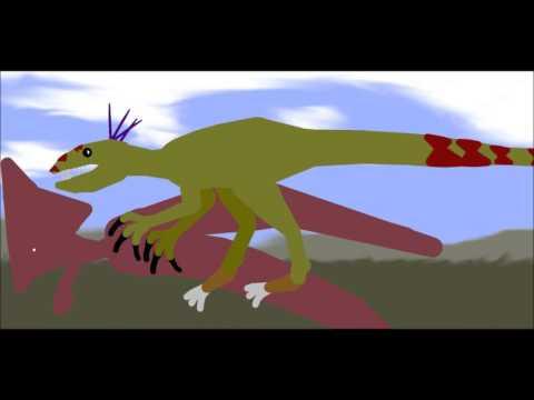 PDW Sinraptor vs Tapejara