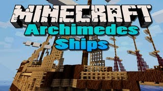 Minecraft: Archimedes Ships | (Build and sail your own ships)
