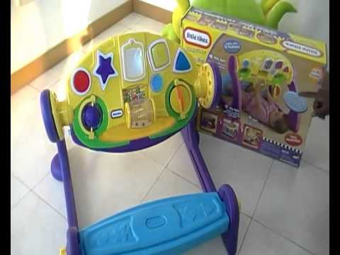 Little tikes 5-in-1 adjustable gym youtube.