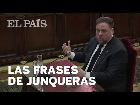 """Las FRASES de JUNQUERAS en el JUICIO al 'PROCÉS': """"Amo a España"""""""