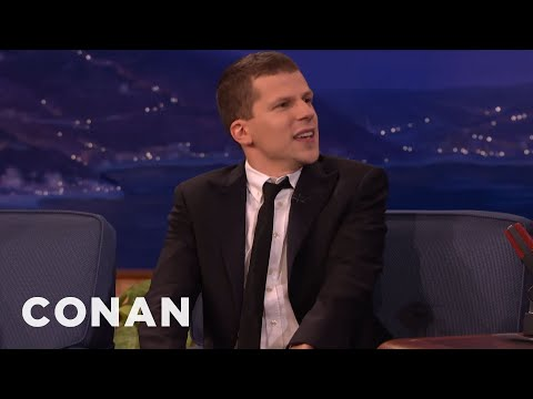 Jesse Eisenberg Likes To Ask His  Invasive Questions   CONAN on TBS